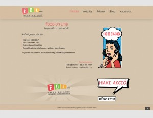 Food On Line - Fol.hu